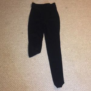American Black Black Riding Pant Size Medium